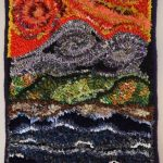 How to Rug Hook with Alternate Fibres