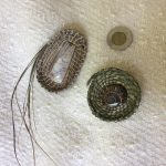 Coiling : A Sweetgrass Brooch