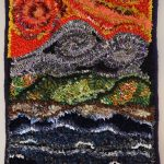Rug Hooking with Alternate Fibres