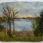 Painting with Wool- Wet Felted Artwork